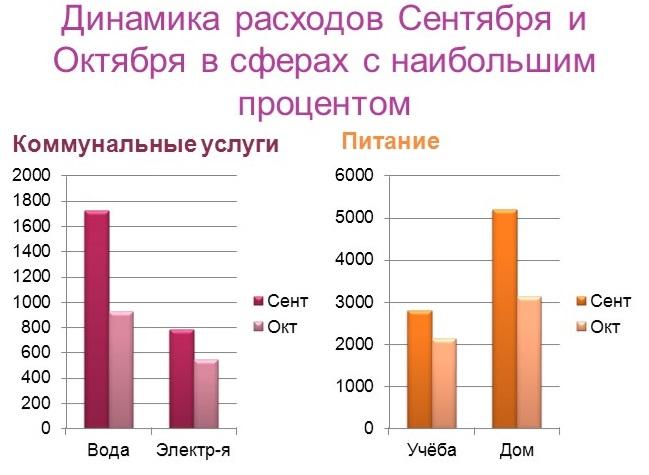 Экономия домашнего хозяйства, динамика
