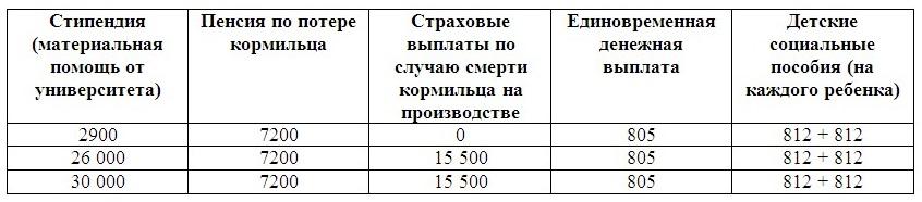 Семейный бюджет_доход жены